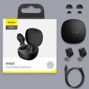 Baseus WM01 Encok True Wireless Bluetooth Earphones
